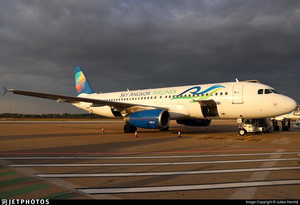 XU-721 - Airbus A320-233 - Sky Angkor Airlines