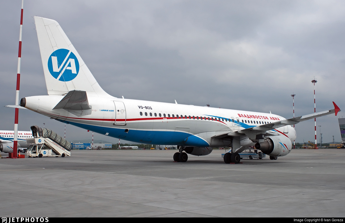 VQ-BCG - Airbus A320-214 - Vladivostok Air
