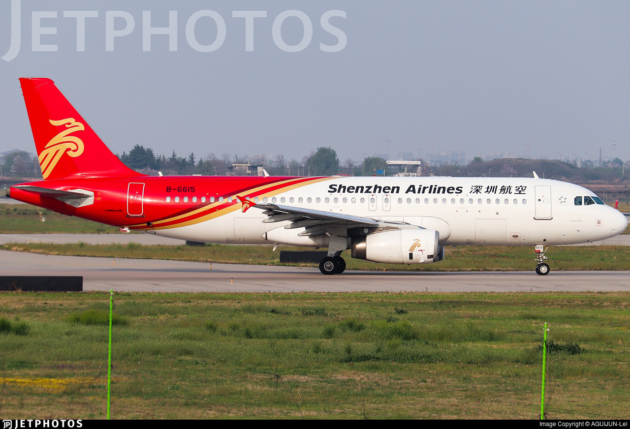 B-6615 - Airbus A320-232 - Shenzhen Airlines