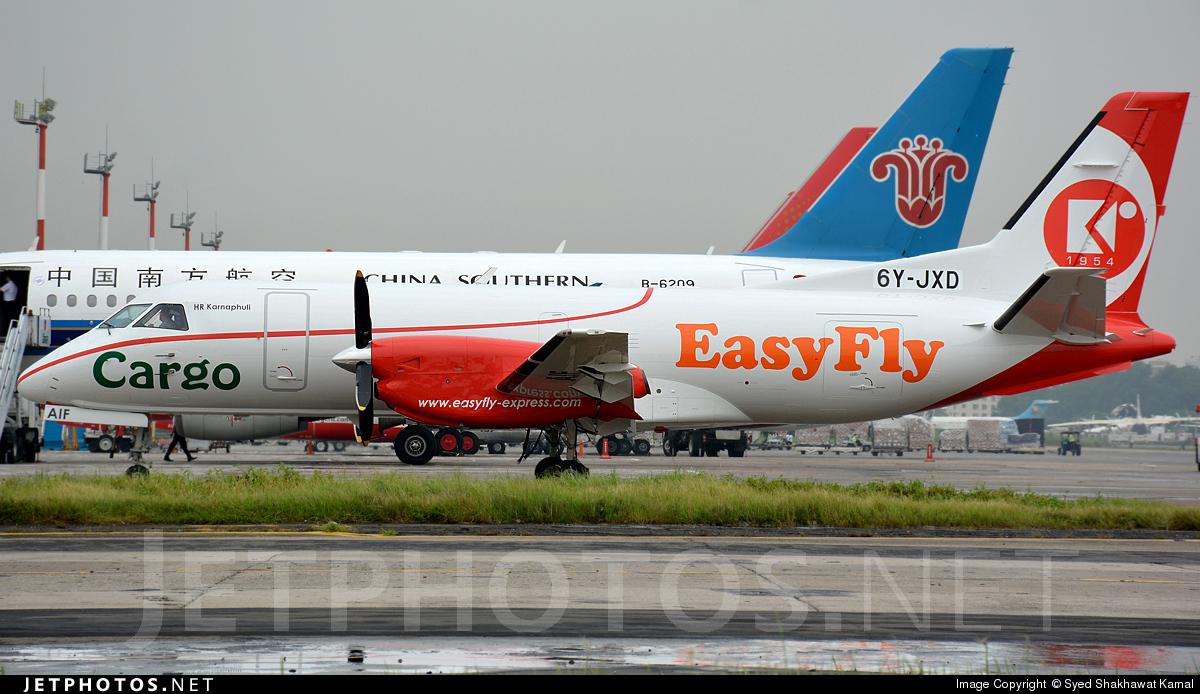 6Y-JXD - Saab 340A(F) - Easy Fly Express