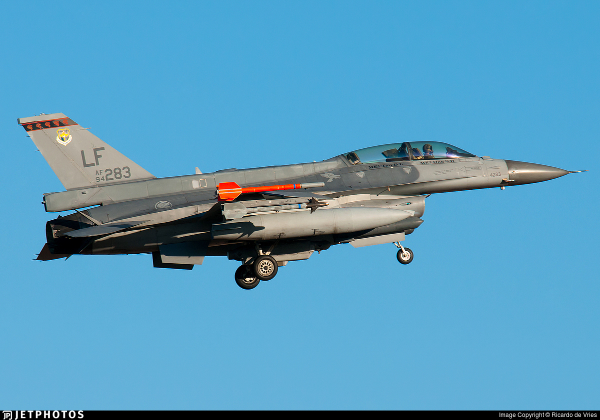 94-0283 - Lockheed Martin F-16D Fighting Falcon - United States - US Air Force (USAF)