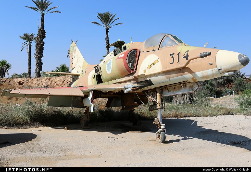 314 - McDonnell Douglas A-4N Ayit - Israel - Air Force