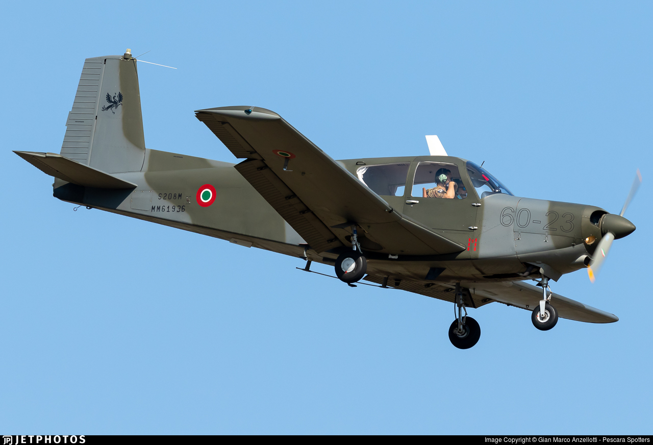 MM61936 - SIAI-Marchetti S208M - Italy - Air Force