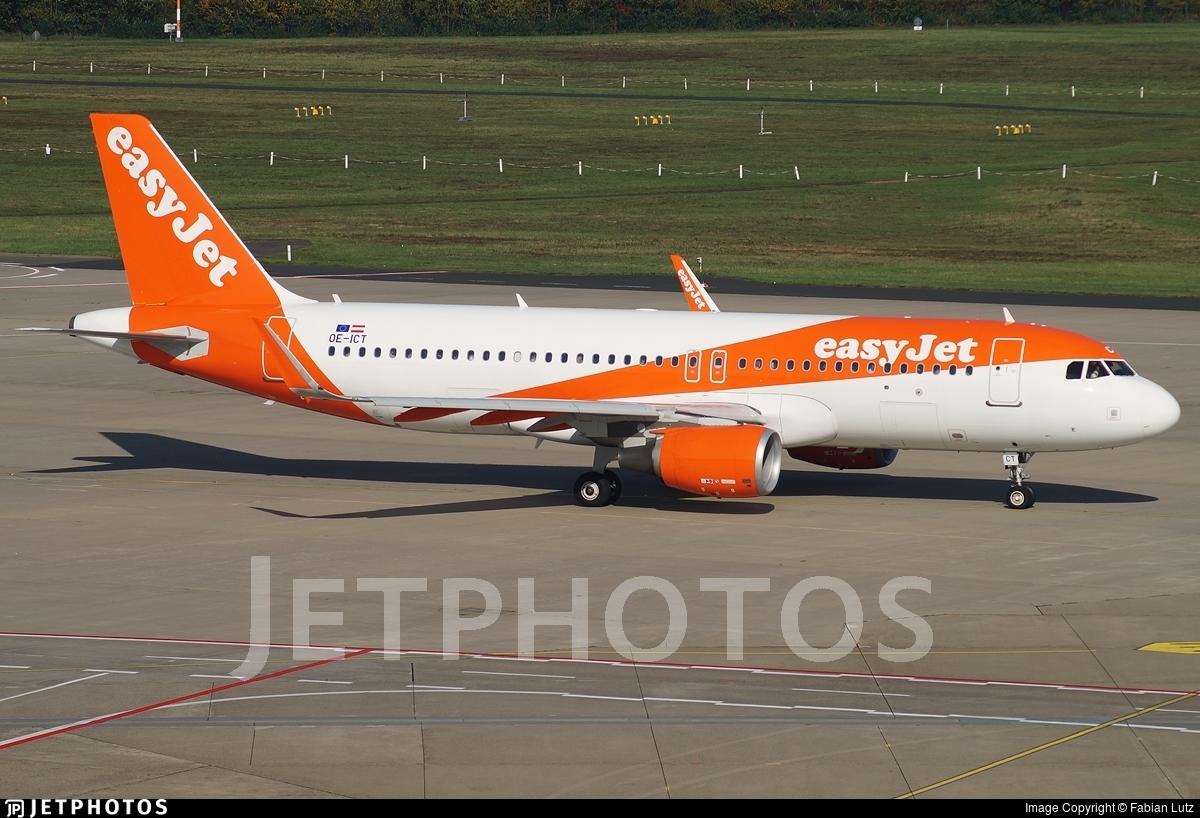OE-ICT - Airbus A320-214 - easyJet Europe