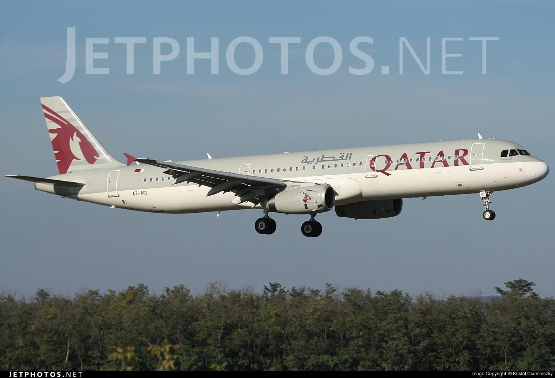 A7-AID - Airbus A321-231 - Qatar Airways