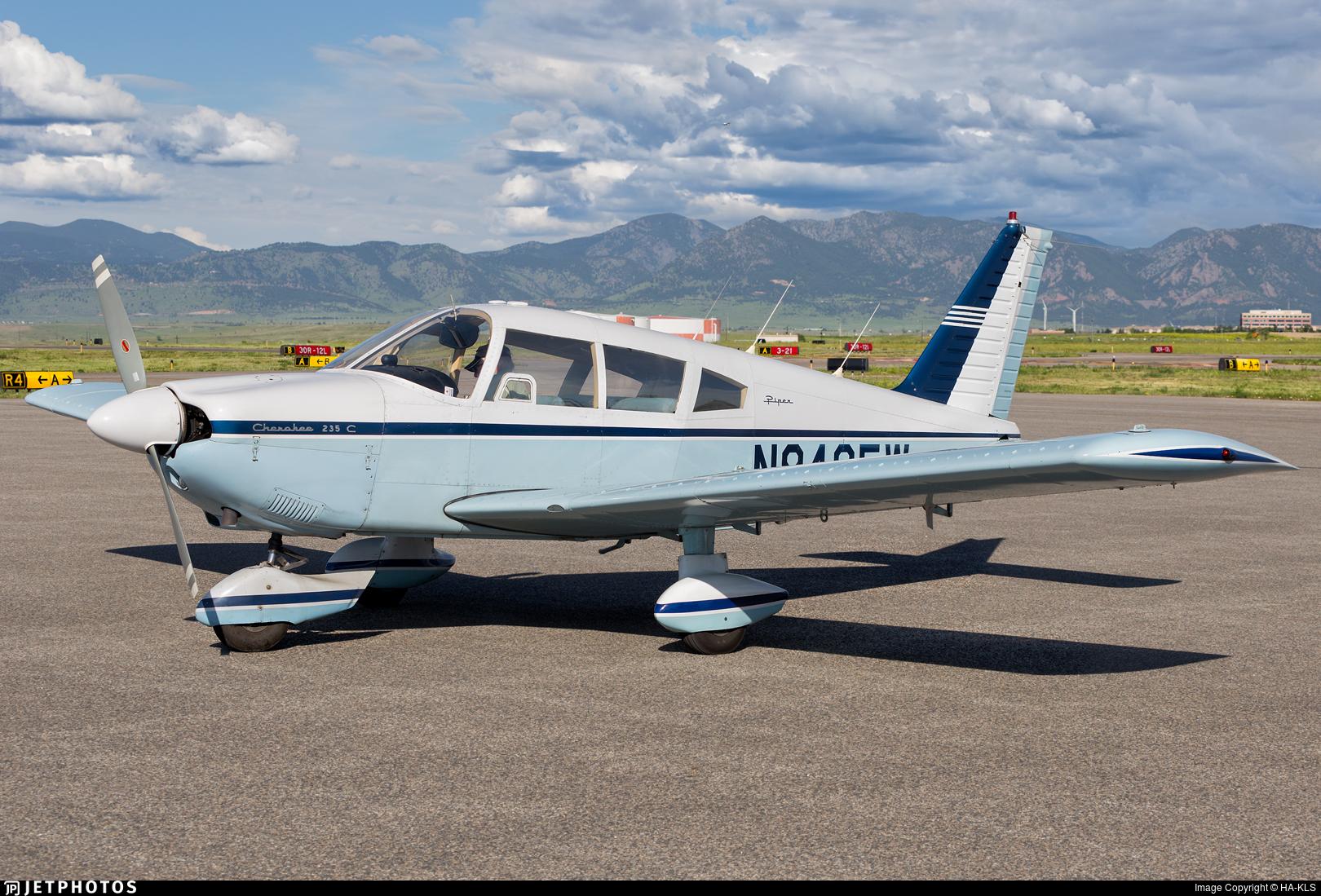 N9435W - Piper PA-28-235 Cherokee C - Private