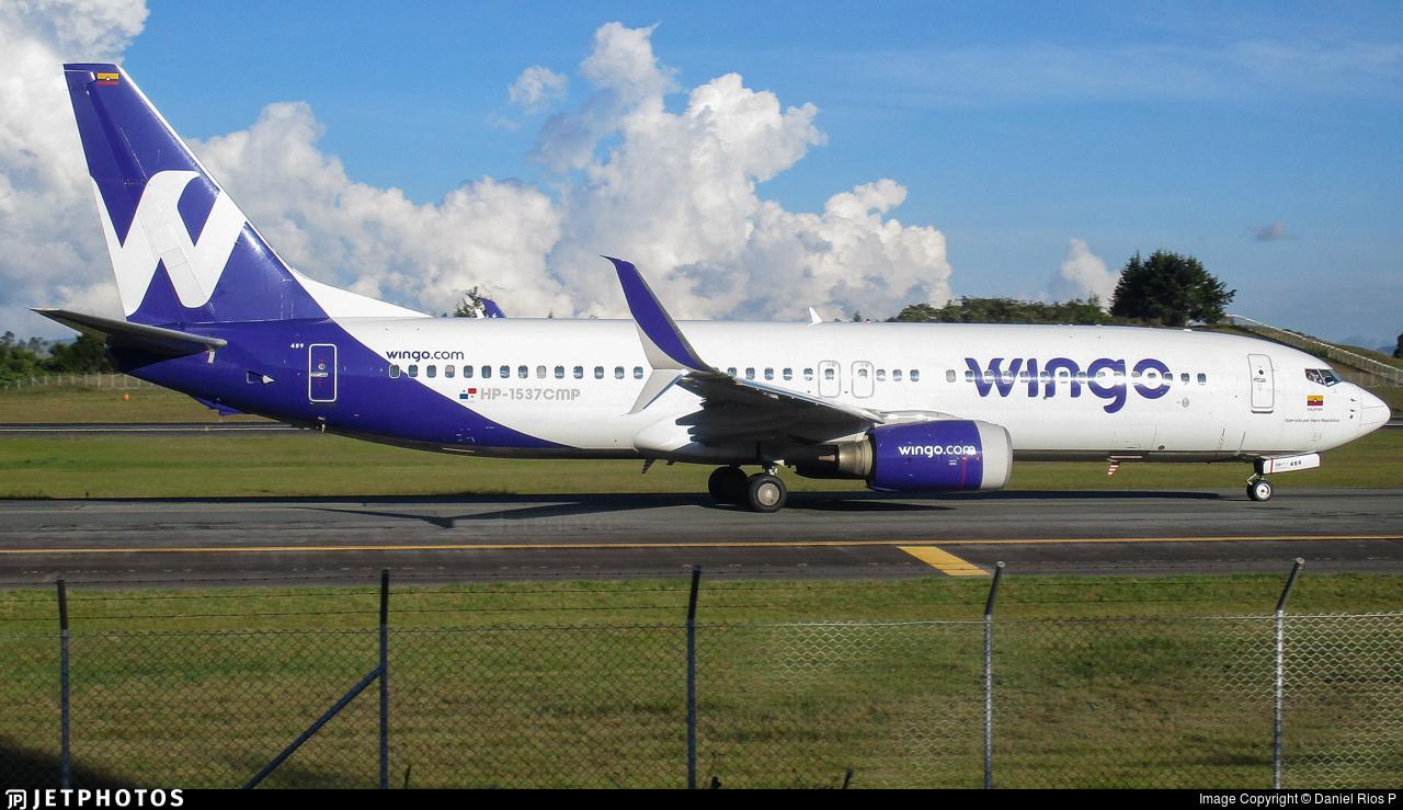 HP-1537CMP - Boeing 737-8V3 - Wingo