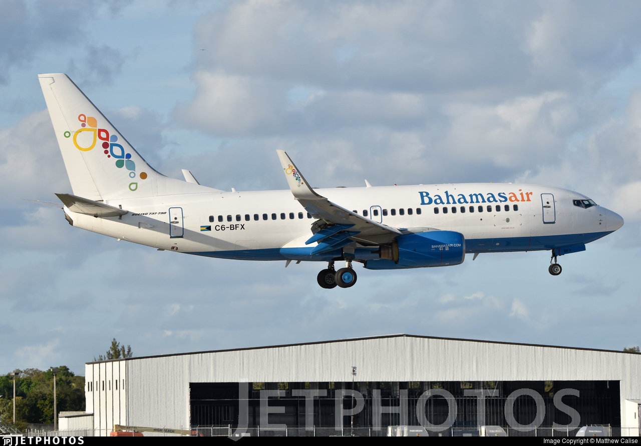 C6-BFX - Boeing 737-790 - Bahamasair