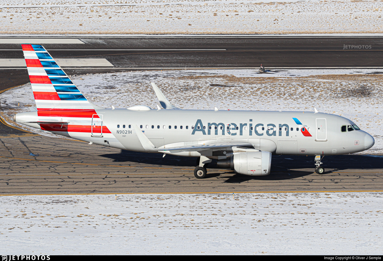 N9021H - Airbus A319-115 - American Airlines