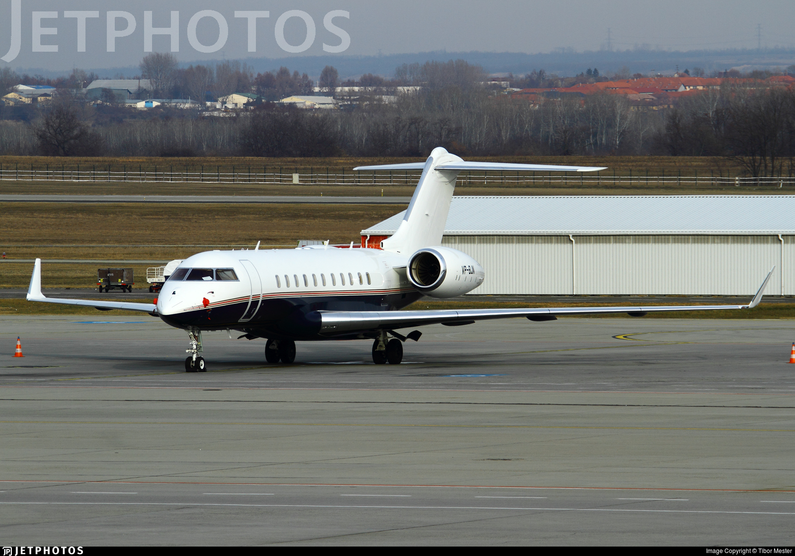 VP-BJN - Bombardier BD-700-1A11 Global 5000 - Jet Aviation Business Jets
