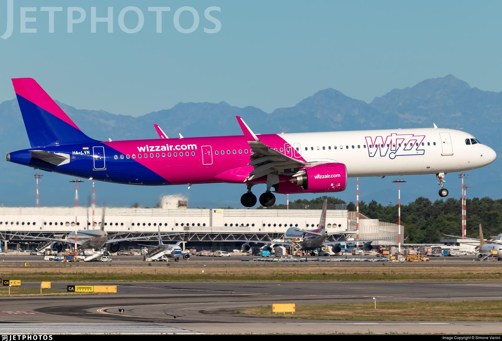 HA-LVN - Airbus A321-271NX - Wizz Air