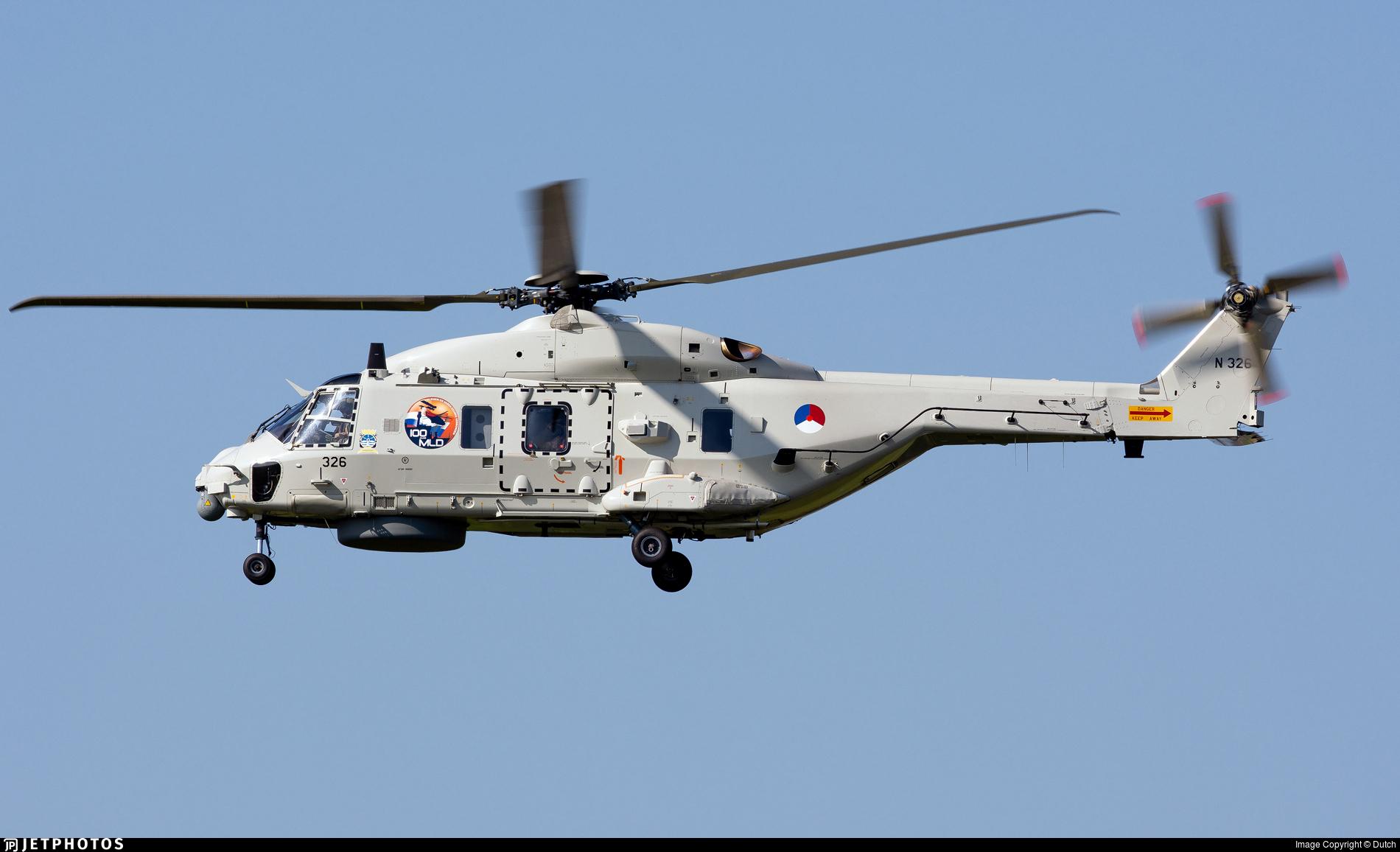 N-326 - NH Industries NH-90NFH - Netherlands - Navy