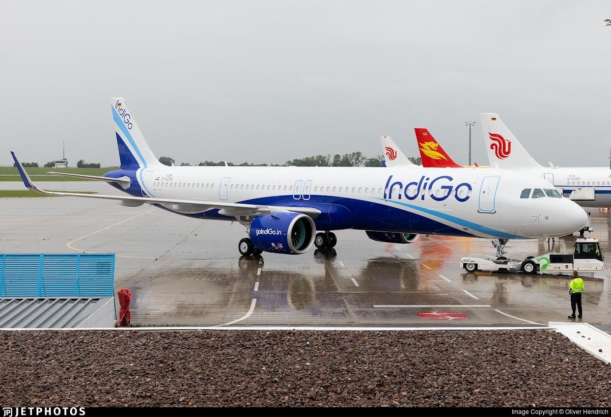 D-AZAK - Airbus A321-271NX - IndiGo Airlines