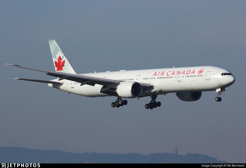 C-FIUL - Boeing 777-333ER - Air Canada