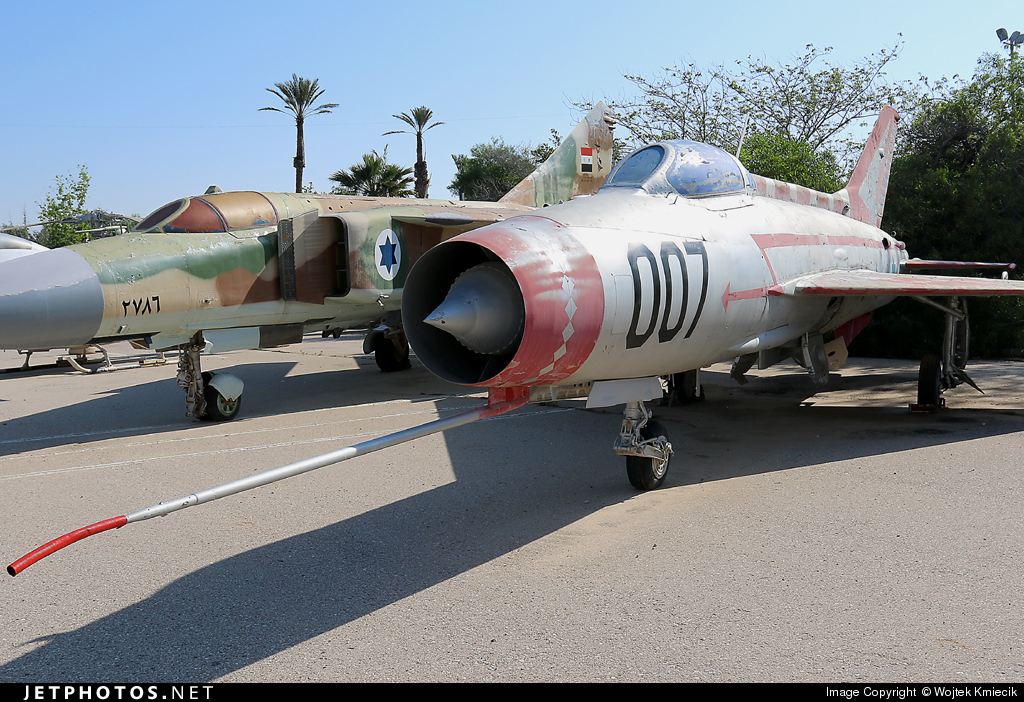 007 - Mikoyan-Gurevich MiG-21F-13 Fishbed C - Israel - Air Force