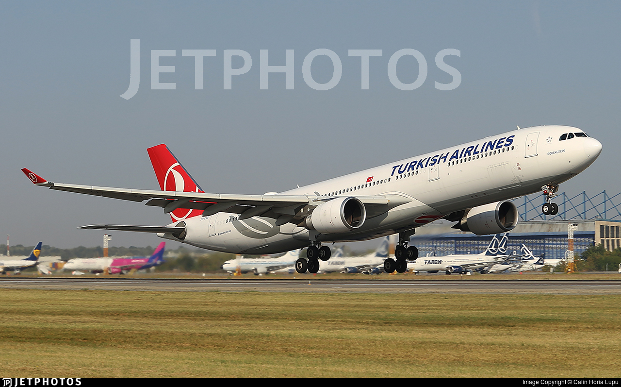 TC-LNE - Airbus A330-303 - Turkish Airlines