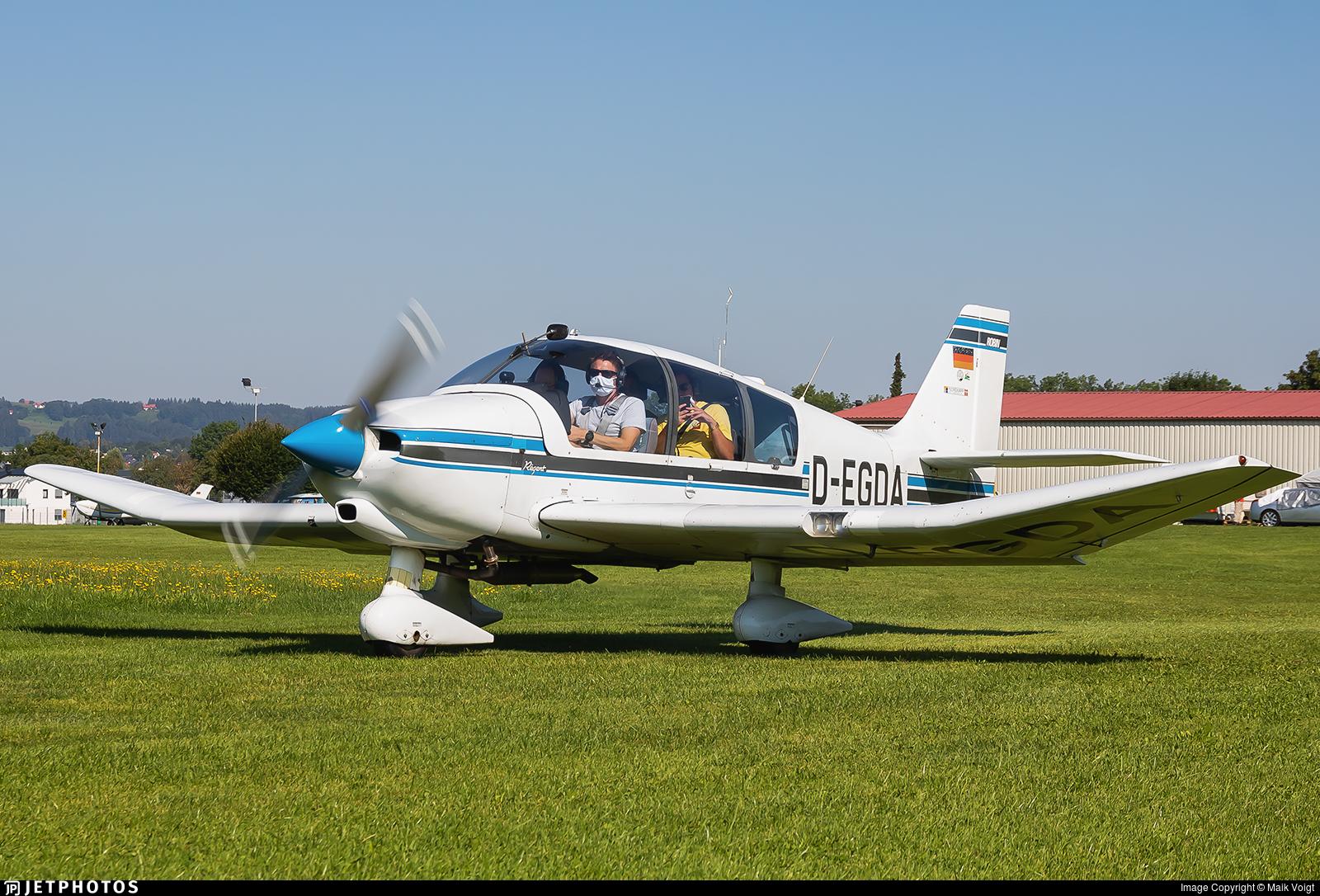 D-EGDA - Robin DR400/180 Régent - Flugschule Michael Bergmann