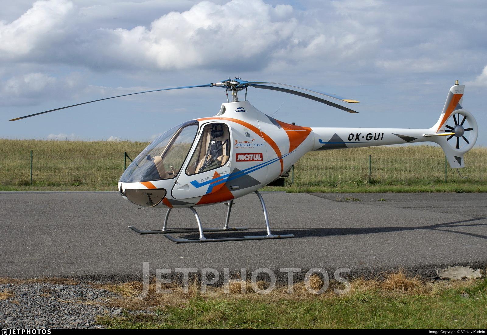 OK-GUI - Guimbal Cabri G2 - Blue Sky Aviation Kladno