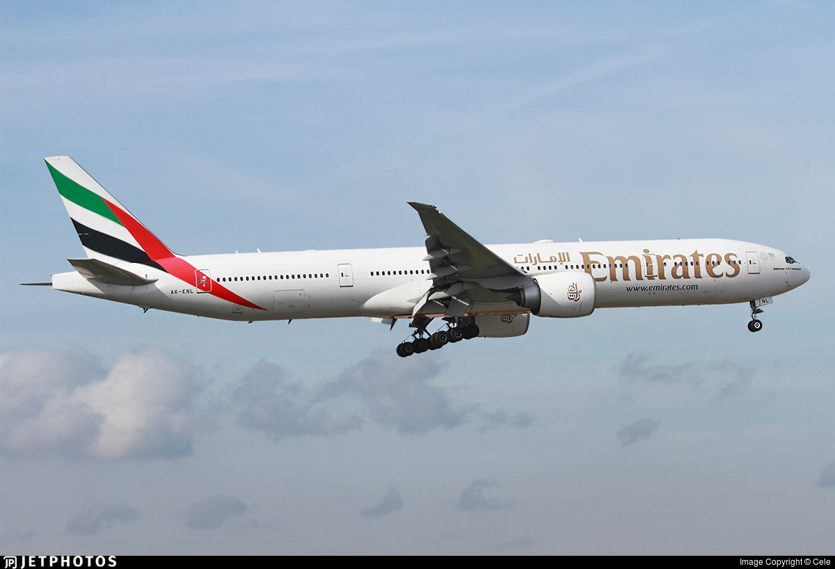 A6-ENL - Boeing 777-31HER - Emirates
