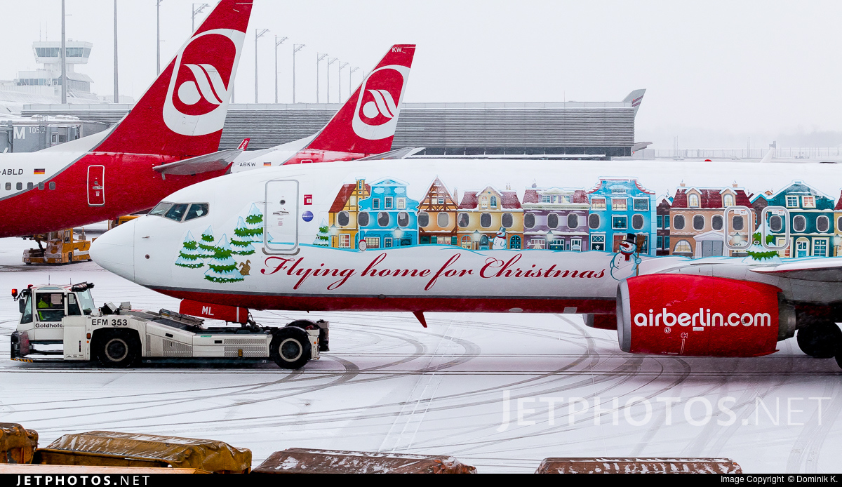 D-ABML - Boeing 737-86J - Air Berlin