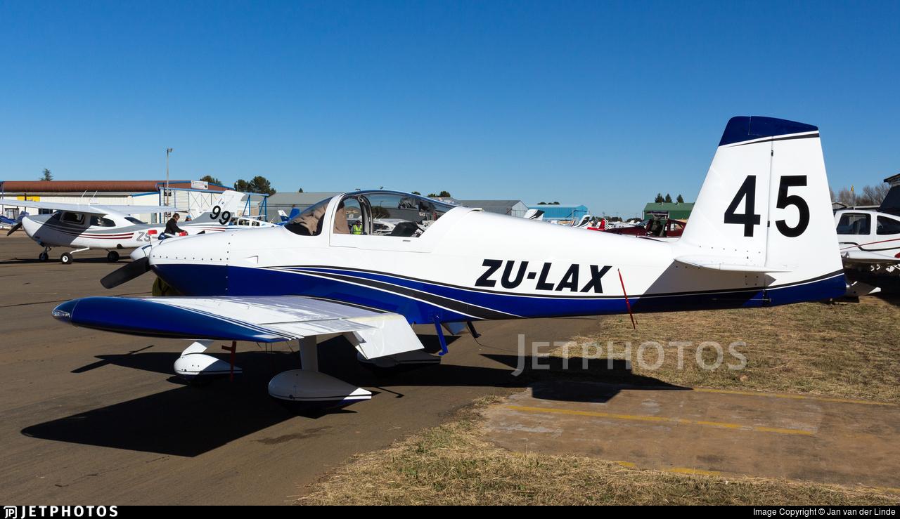 ZU-LAX - Vans RV-7A - Private