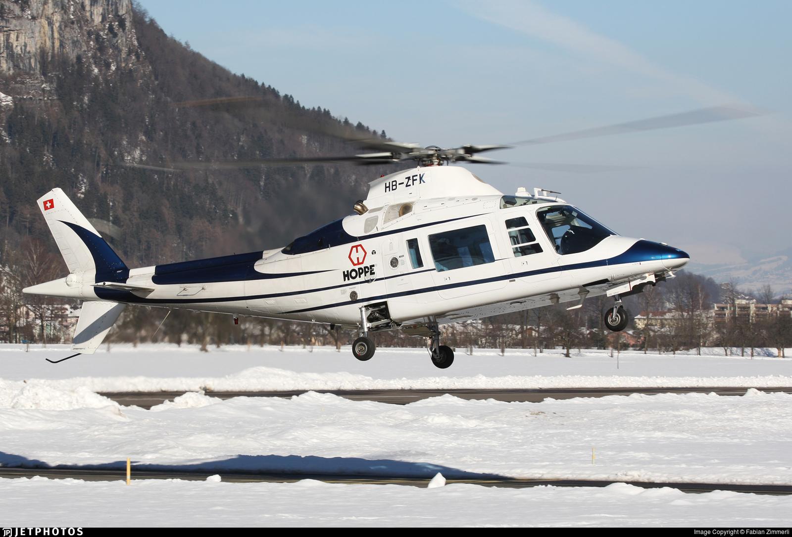 HB-ZFK - Agusta A109C Hirundo - Private