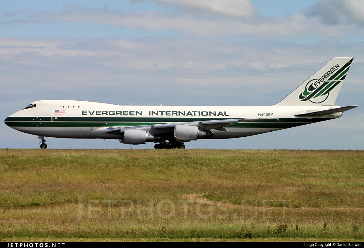 N490EV - Boeing 747-230F(SCD) - Evergreen International Airlines