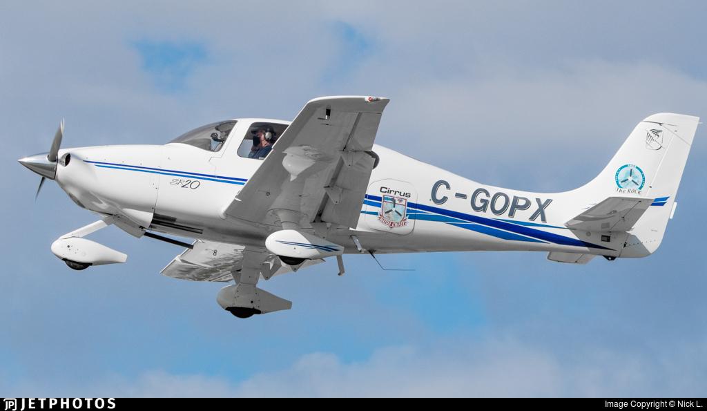 C-GOPX - Cirrus SR20 - Private