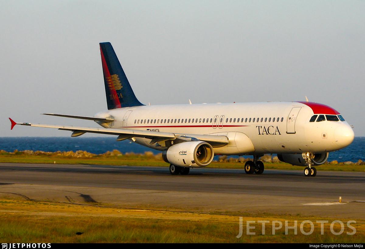 N484TA - Airbus A320-233 - TACA International Airlines