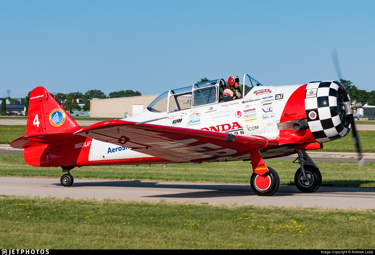 N601JF - North American AT-6C Texan - Aeroshell Aerobatic Team