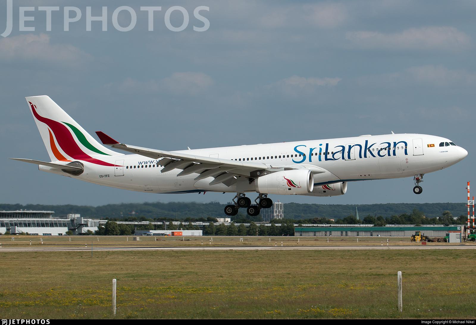 CS-TFZ - Airbus A330-243 - SriLankan Airlines