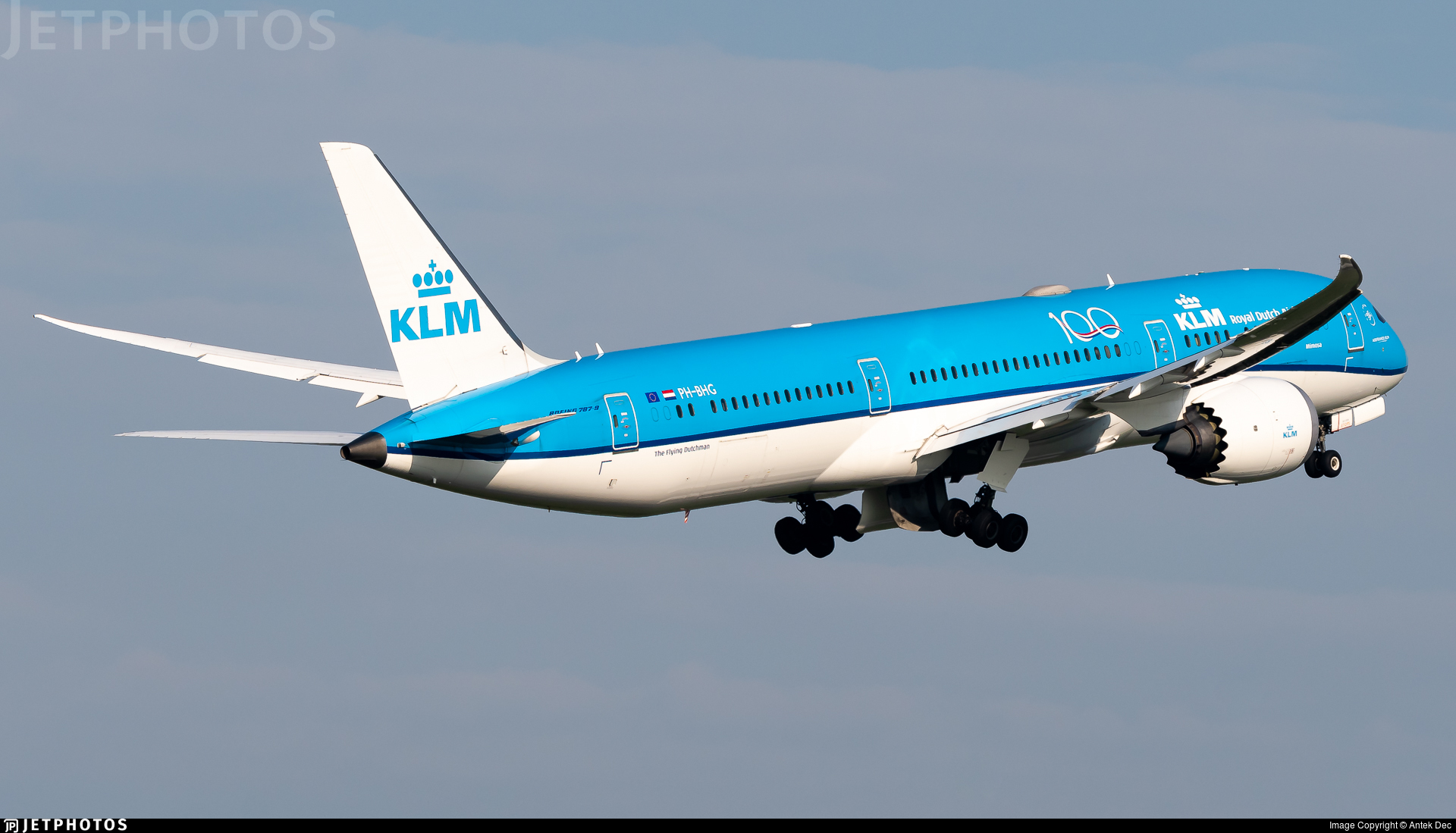 PH-BHG - Boeing 787-9 Dreamliner - KLM Royal Dutch Airlines