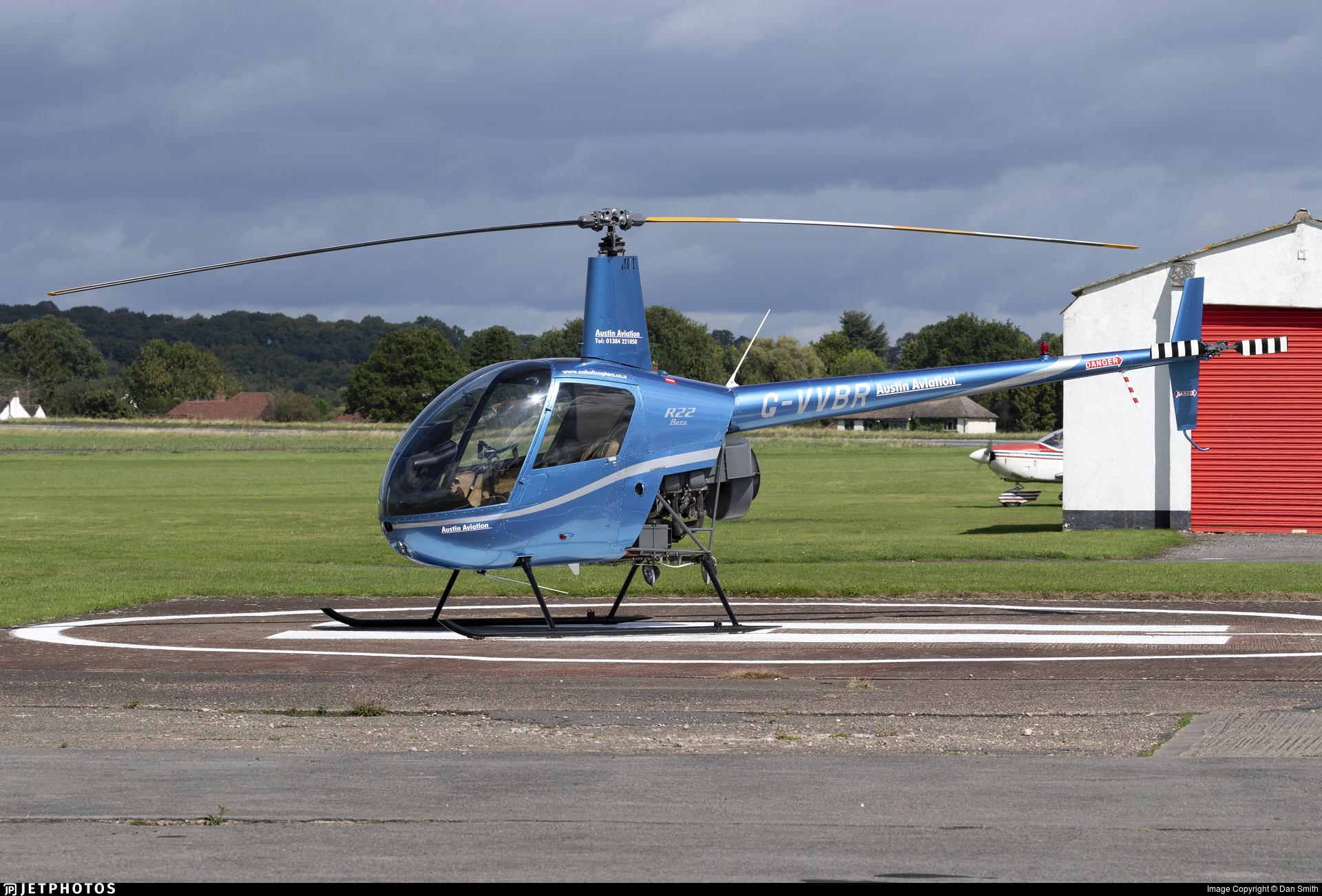 G-VVBR - Robinson R22 Beta - Austin Aviation