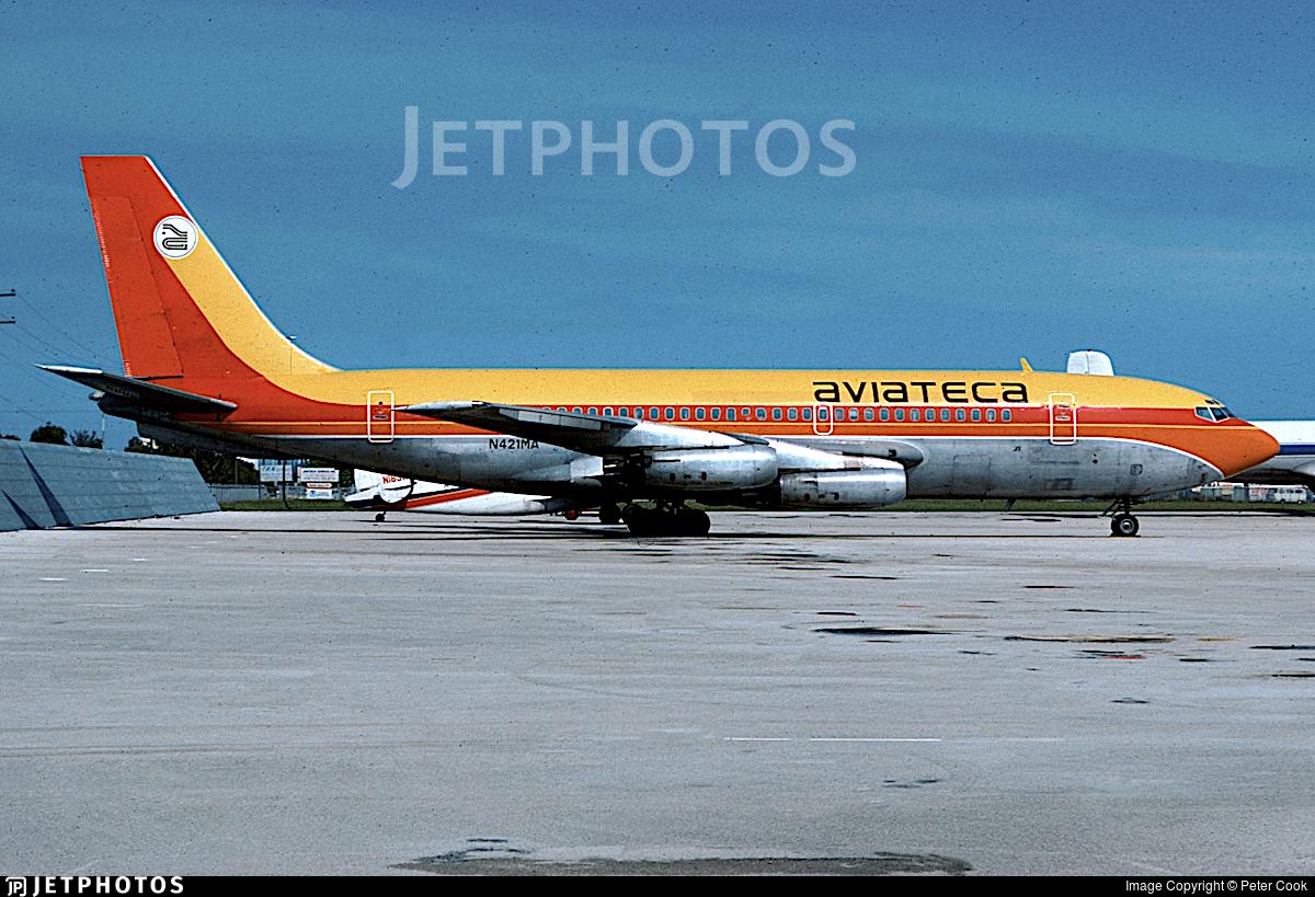 N421MA - Boeing 720-022 - Aviateca