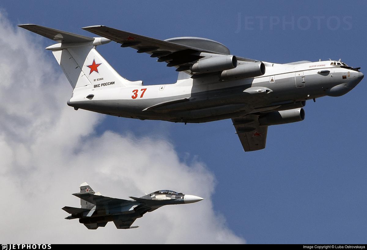 RF-93966 - Beriev A-50 Mainstay - Russia - Air Force