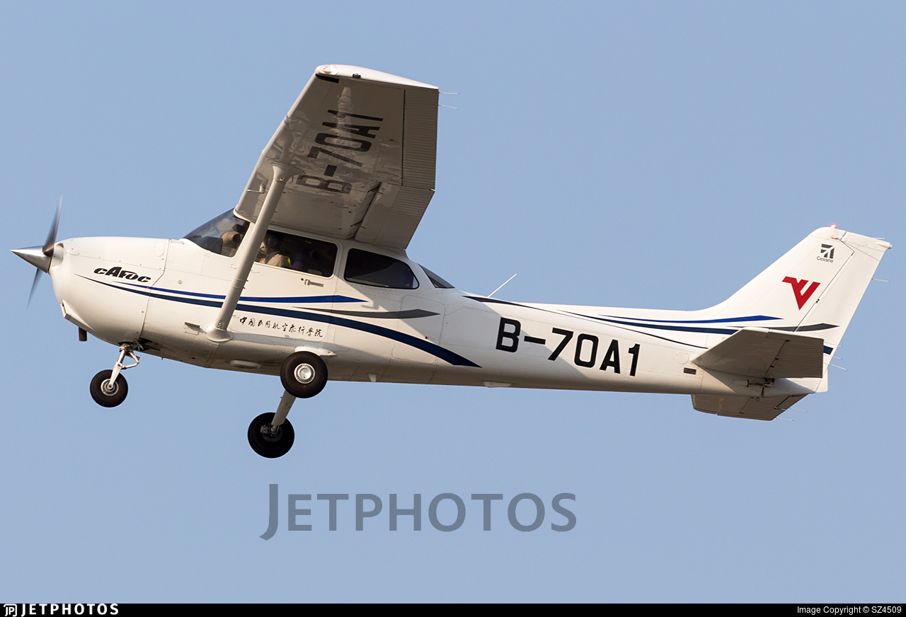 B-70A1 - Cessna 172S Skyhawk SP - Civil Aviation Flight University of China