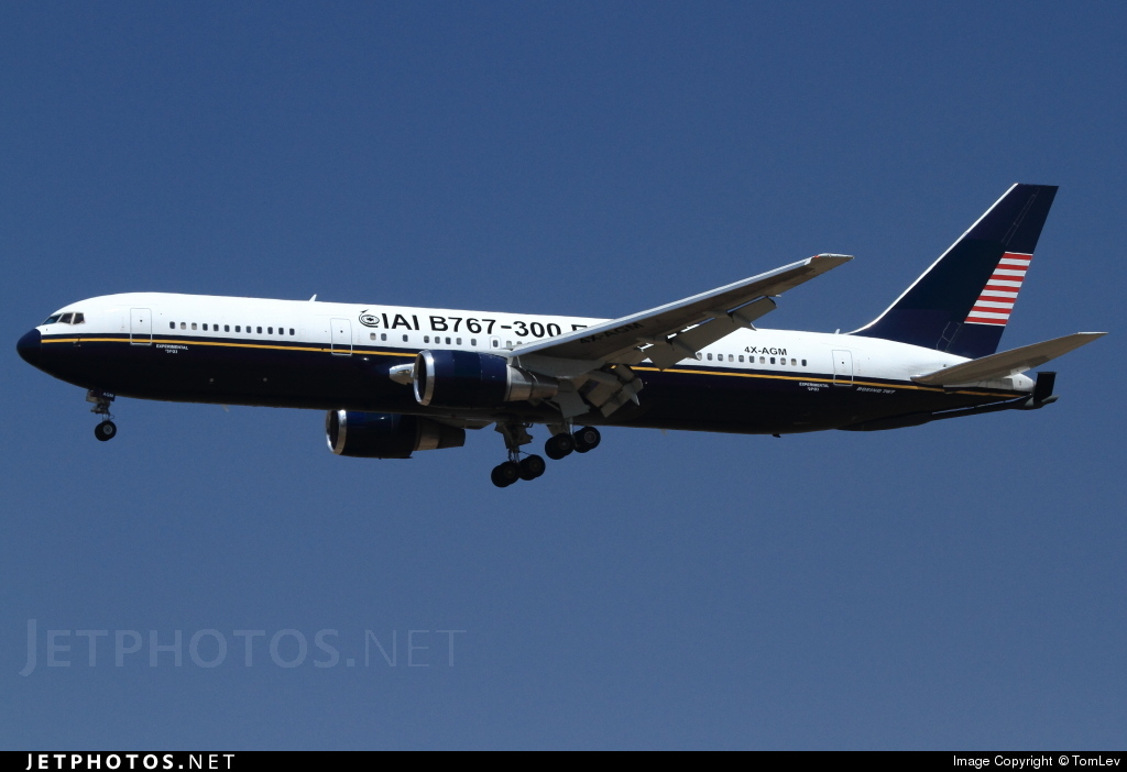 4X-AGM - Boeing 767-328(ER)(MMTT) - Israel Aerospace Industries (IAI)
