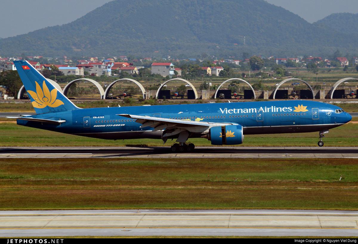 VN-A145 - Boeing 777-26K(ER) - Vietnam Airlines