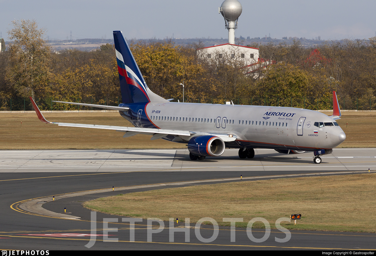 VP-BON - Boeing 737-8LJ - Aeroflot