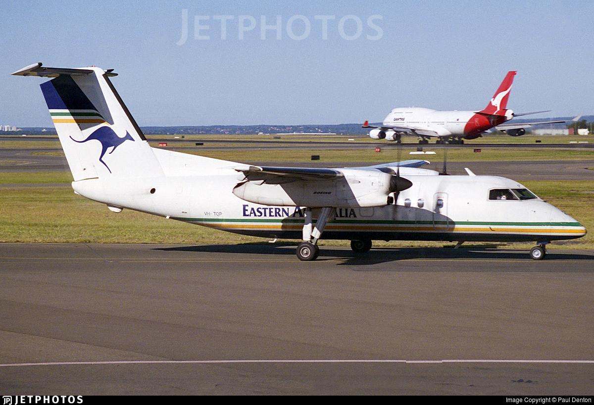 VH-TQP - Bombardier Dash 8-102 - Eastern Australia Airlines