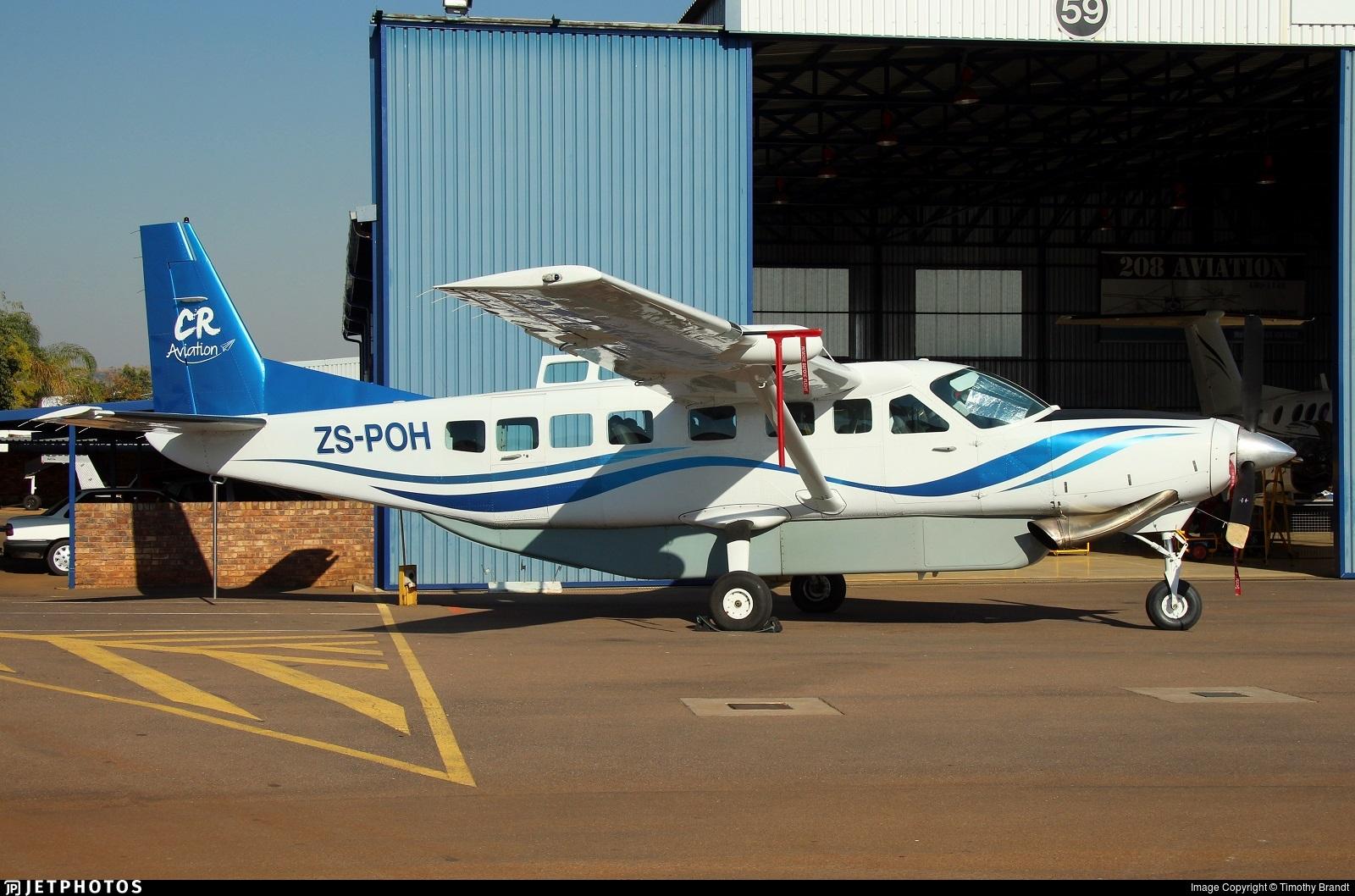 zs poh cessna 208b grand caravan cr aviation timothy brandt rh jetphotos com Cessna 208 Caravan Cockpit Cessna 208 Caravan Cockpit