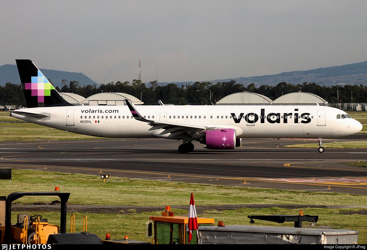 N535VL - Airbus A321-271N - Volaris