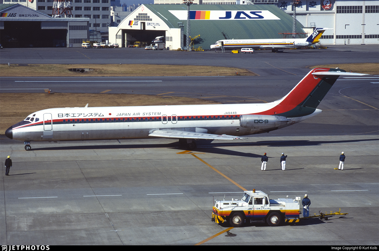 JA8448 - McDonnell Douglas DC-9-32 - Japan Air System (JAS)