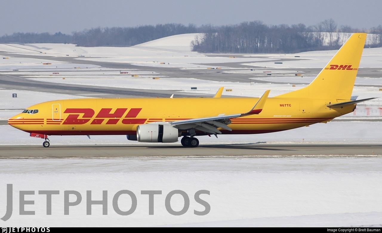 N67TC - Boeing 737-8FH(BDSF) - DHL (Swift Air)