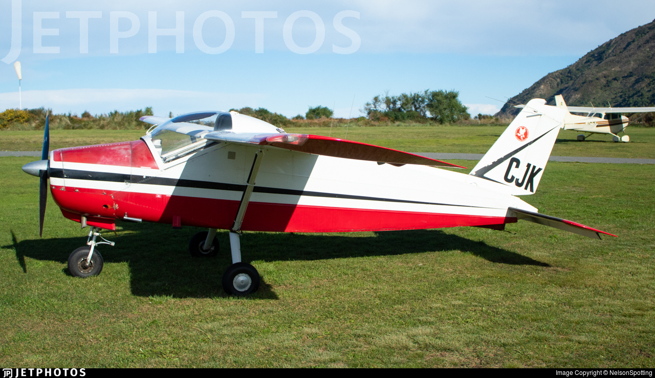 ZK-CJK - Bolkow Bo208C Junior - Private