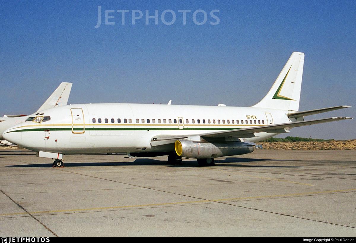 N715A - Boeing 737-2S2C(Adv) - Saudi Aramco Aviation