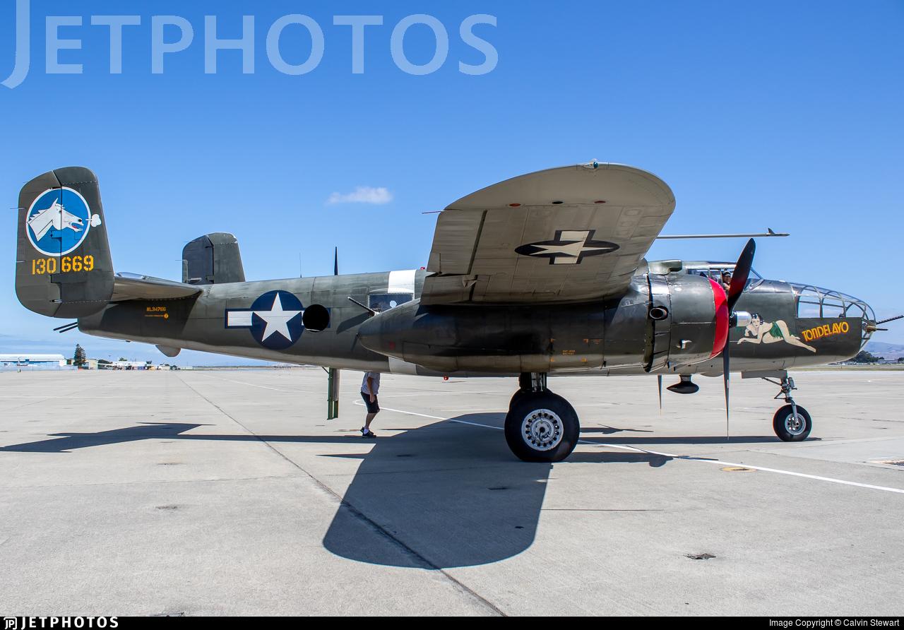 NL3476G - North American B-25J Mitchell - Private