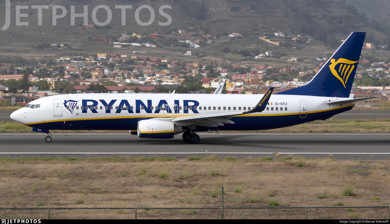 EI-EFZ - Boeing 737-8AS - Ryanair