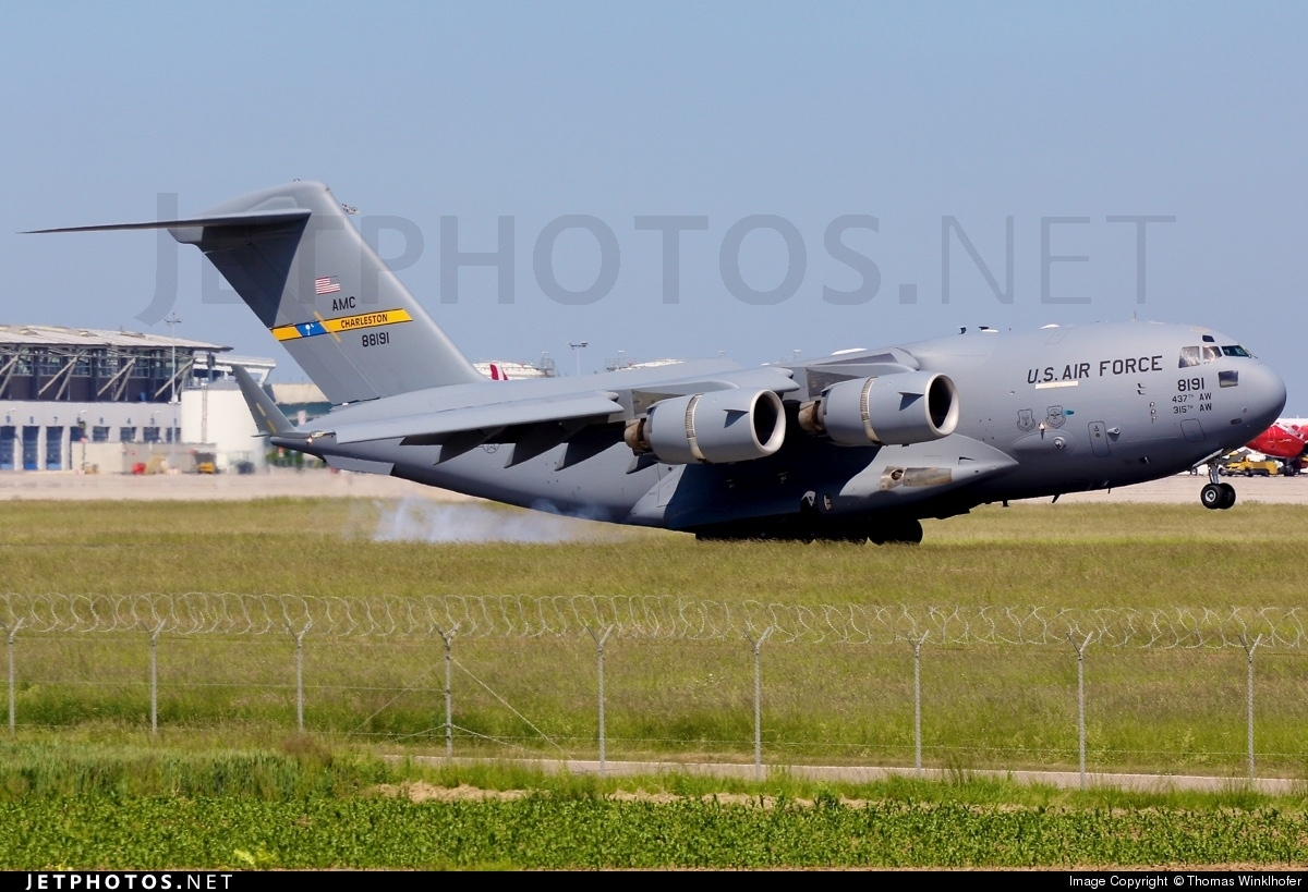 08-8191 - Boeing C-17A Globemaster III - United States - US Air Force (USAF)