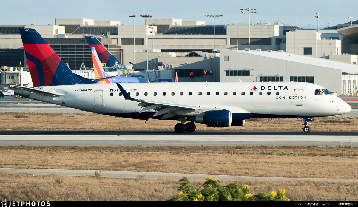 N615CZ - Embraer 170-200LR - Delta Connection (Compass Airlines)